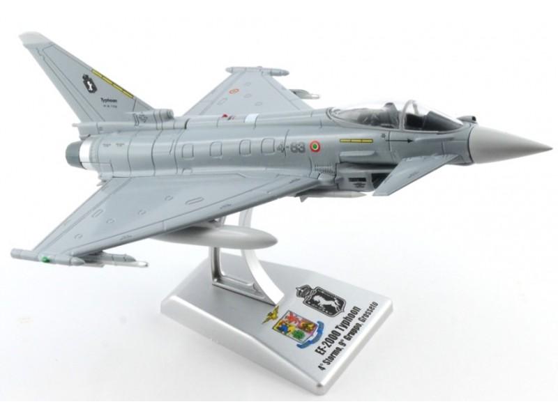 Italeri 1//100 EF-2000 Typhoon 4° stormo 9° Gruppo Grosseto modello montato