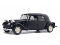 Solido 1/18 Citroen Traction IICV nera 1937 modellino