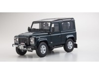 Kyosho 1/18 Land Rover Defender 90 AIntree Green modellino
