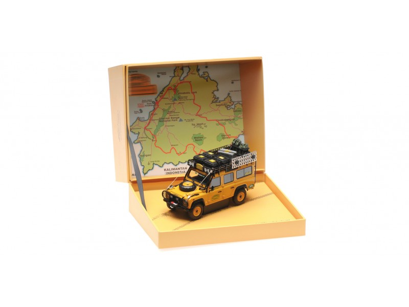 ALMOST REAL 1/43 LAND ROVER DEFENDER 110 CAMEL TROPHY MALAYSIA 1993 MODELLINO