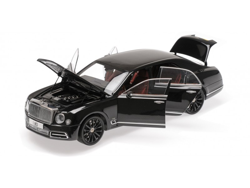 ALMOST REAL 1/18 BENTLEY MULSANNE W.O. 2018 EDITION BY MULLINER CENTENARY LIMITED EDITION