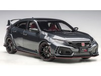 AUTOART 1/18 HONDA CIVIC TYPE R FK8 POLISHED METAL MODELLINO APRIBILE