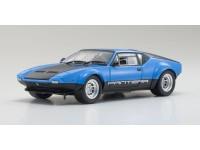 Kyosho 1/18 De Tomaso Pantera GT4 nera blu modellino apribile