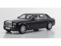 Kyosho 1/18 Rolls-Royce Phantom EWB Diamond Black modellino