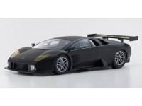 Kyosho 1/18 Lamborghini Murcielago R-GT nero opaco modellino