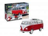 Revell Technik 1/16 Volkswagen T1 Samba Bus modello in kit di montaggio