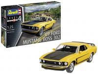 Revell 1/25 Ford Mustang Boss 302 modello in kit di montaggio