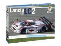 Italeri 1/24 Lancia LC2 modello in kit di Montaggio