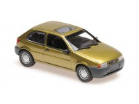 MAXICHAMPS 1/43 FORD FIESTA COLOR ORO 1995 MODELLINO