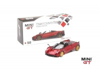 MINI GT 1/64 PAGANI HUAYRA ROADSTER ROSSO MONZA
