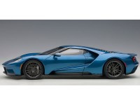 AUTOART 1/18 FORD GT 2017 LIQUID BLUE MODELLINO APRIBILE