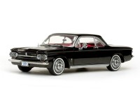 Sun Star 1/18 Chevrolet Corvair Coupe 63 Tuxedo Black modellino