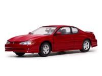 Sun Star 1/18 Chevrolet Monte Carlo SS 2000 rosso torcia modellino