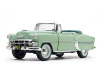 Sun Star 1/18 Chevrolet Bel Air Open Convertible Surf Green modellino con aperture