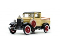 Sun Star 1/18 Ford Model A Pickup Bronson Yellow modellino con aperture