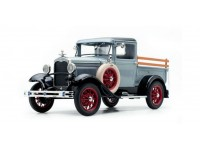 Sun Star 1/18 Ford Model A Pickup French Gray modellino con aperture