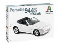 Italeri 1/24 Porsche 944S Cabrio modello in kit di Montaggio
