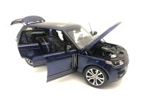 LCD Models 1/18 RANGE ROVER SV AUTOBIOGRAPHY DYNAMIC BLUE 2017 MODELLINO APRIBILE