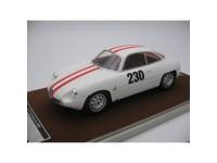 Tecnomodel 1/18 Alfa Romeo Giulietta SZ N.230 Friburgo-Schauinsland 1962 modellino