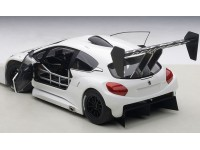 AUTOART 1/18 PEUGEOT 208 T16 PIKES PEAK RACE CAR 2013 BIANCA MODELLINO APRIBILE