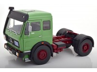 ROAD KINGS 1/18 MOTRICE MERCEDES NG 1632 VERDE 1973 MODELLINO