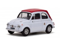 Vitesse 1/43 Fiat Abarth 595 SS 1964 bianca rossa modellino