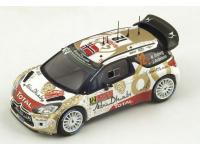 Spark Model 1/43 Citroen DS3 N.12 Rally Monte Carlo 2015 modellino