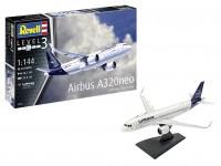 "Revell 1/144 Airbus A320 Neo Lufthansa ""New Livery"" kit di montaggio"