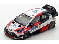 Spark Model 1/43 Toyota Yaris WRC n.12 Victory Rally Finland 2017 model