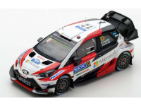 Spark Model 1/43 Toyota Yaris WRC n.12 Vittoria Rally Finlandia 2017 modellino