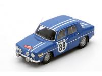 Spark Model 1/43 Renault 8 Gordini N.89 Monte Carlo Rally 1969 modellino