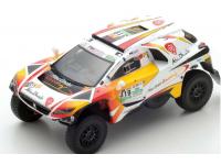 Spark Model 1/43 Peugeot 2008 DKR N.319 Dakar 2017 modellino