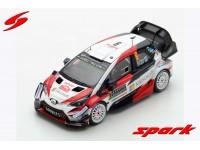 Spark Model 1/43 Toyota Yaris WRC N.9 Rally Monte Carlo 2018 model