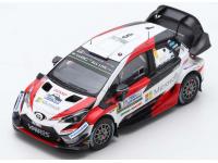 Spark Model 1/43 TOYOTA Yaris WRC N.8 vittoria Rally Argentina 2018 modellino