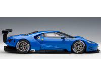 AUTOART 1/18 FORD GT LE MANS PLAIN COLOR VERSION LIGHTNING BLUE MODELLINO APRIBILE