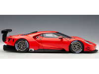 AUTOART 1/18 FORD GT LE MANS PLAIN COLOR VERSION RUBY RED MODELLINO APRIBILE