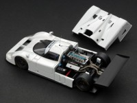 HPI RACING 1/43 JAGUAR XJR 9 PLAIN COLOR WHITE MODELLINO