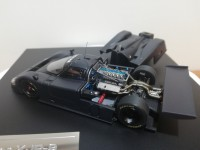 HPI RACING 1/43 JAGUAR XJR 9 PLAIN COLOR BLACK MODELLINO