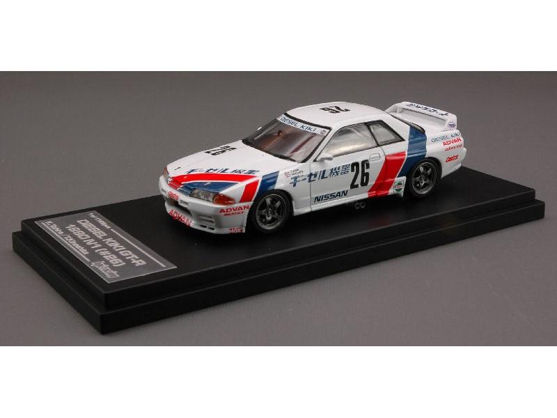 HPI Racing 1/43 nissan skyline diesel kiki gt-r 1990 N1 modellino