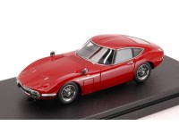 HPI Racing 1/43 Toyota 2000 GT 1970 solar red modellino