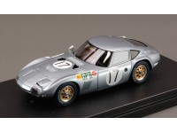 HPI Racing 1/43 Toyota 2000 GT n.17 Japan GP T. Tamura 1970 solar red model
