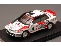 HPI RACING 1/43 MITSUBISHI LANCER EVOLUTION N.4 SAFARI RALLY 1994 MODELLINO