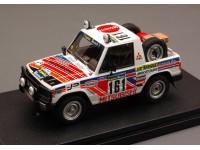 HPI RACING 1/43 MITSUBISHI PAJERO N.161 11PARIGI DAKAR 1983 MODELLINO