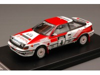 HPI RACING 1/43 TOYOTA CELICA GT-FOUR N.4 VITTORIA RALLY 1000 LAGHI 1990 MODELLINO