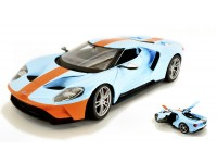 MAISTO 1/18 FORD GT 2017 GULF VERSION MODELLINO