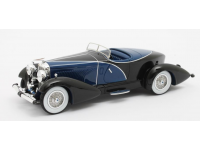Matrix Scale Models 1/43 Duesenberg J SWB French True Speedster by Figoni blue 1931 modellino