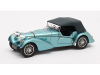 Matrix Scale Models 1/43 Bugatti T57SC Sports Tourer Vanden Plas blue 1938 modellino