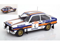 IXO MODELS 1/18 FORD ESCORT MK2 RS1800 N.4 RALLY SANREMO 1980 MODELLINO