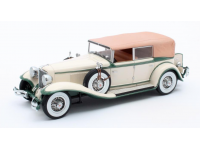 Matrix Scale Models 1/43 Cord L-29 Phaeton Sedan color crema 1931 modellino