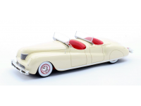 Matrix Scale Models 1/43 Chrysler Newport Dual Cowl Pheaton LeBaron color crema 1941 modellino